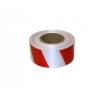 Лента для ограждений 50мм х 200м бело-красная